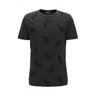 T shirt hugo boss tout noir