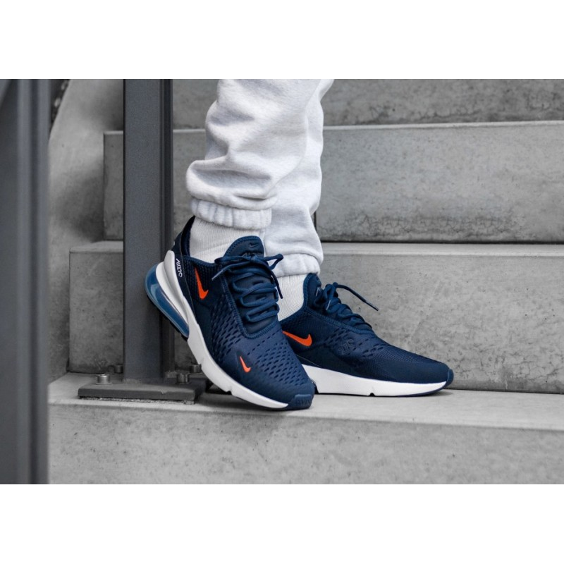 air max 270 orange et bleu