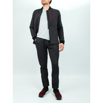 Ensemble hugo boss gris rouge