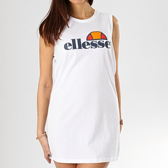 robe Ellesse debardeur blanche
