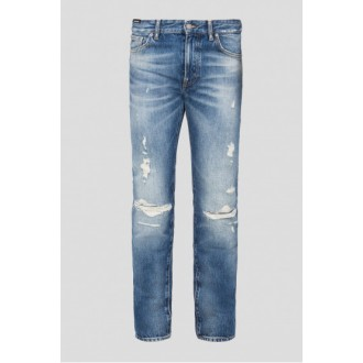Jeans Hugo boss bleu a trous