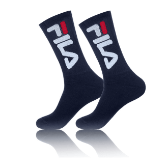 Chaussette fila pack x 2 bleu