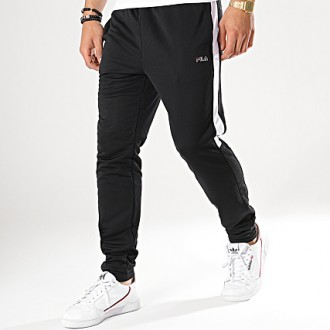 Pantalon fila noir et blanc