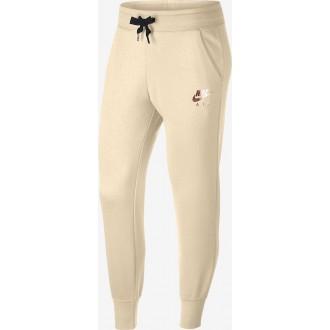 Pantalon nike blanc beige...