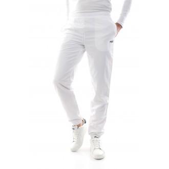Pantalon uni blanc fila