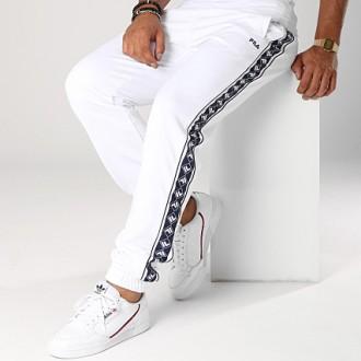 Pantalon blanc bleu fila