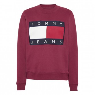 Sweat Tommy Jeans Bleu...