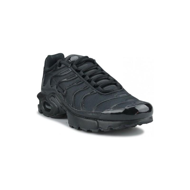 Basket Nike Air Max Tn plus (Gs) Noir Uni