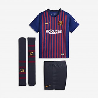 Ensemble Nike barca bleu rouge