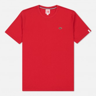 TEE SHIRT LACOSTE ROUGE...