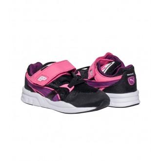 Baskets Puma noir violet...