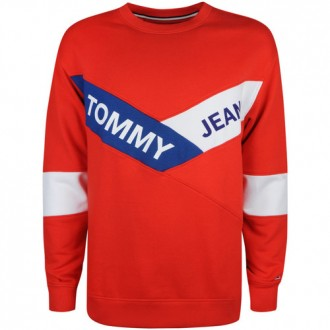 sweat tommy hilfiger rouge...