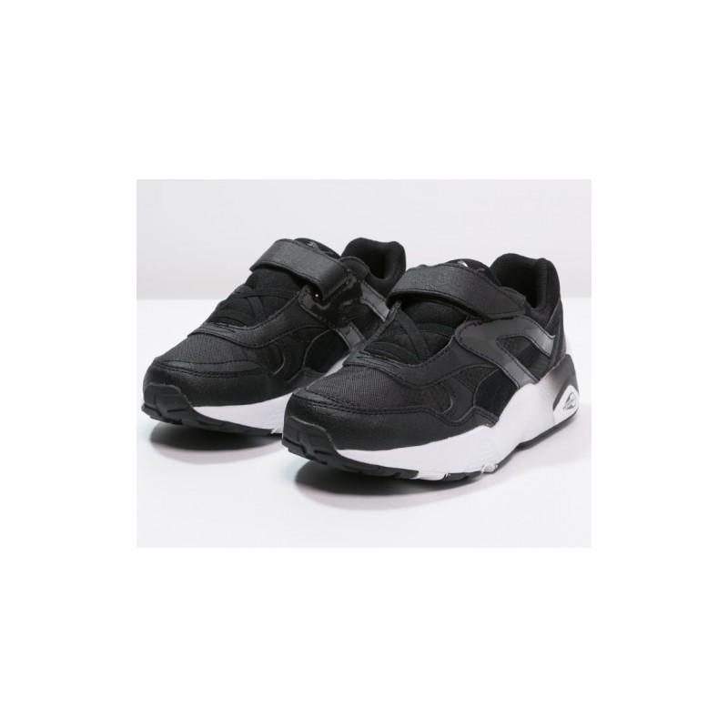basket puma noir et blan