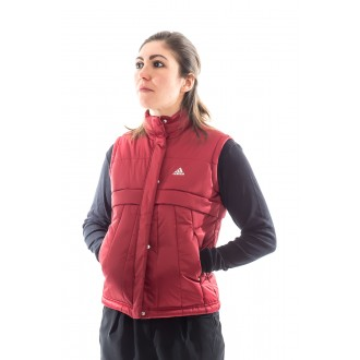 veste adidas padded vest rouge