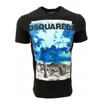 tee shirt dsquared2 noir et...