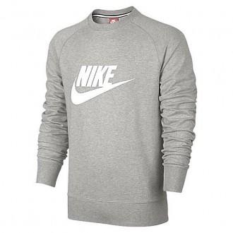 Pull Nike gris et blanc