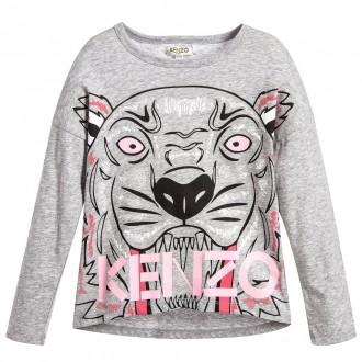 Pull  Kenzo gris et rose