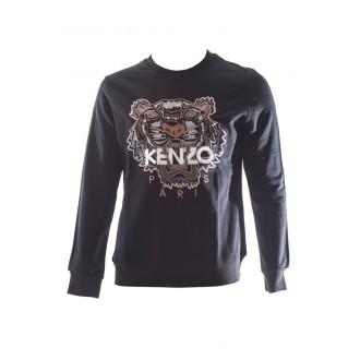 Pull Kenzo orange et noir