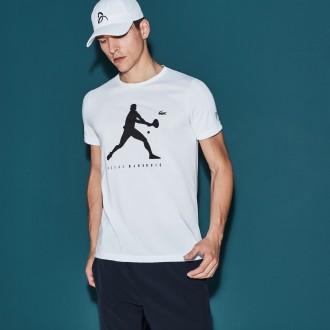 T-shirt Lacoste tennis blanc