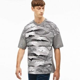 T-shirt Lacoste live col...