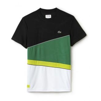 T-shirt Lacoste noir vert...