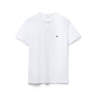 T-shirt Lacoste blanc uni 3...