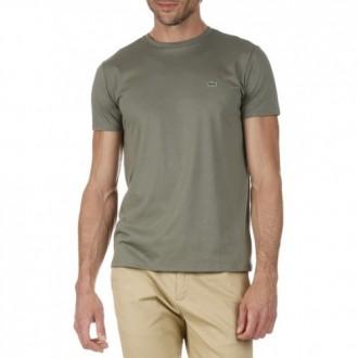 T-shirt Lacoste uni armée