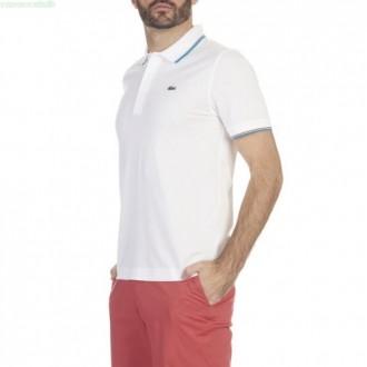 T-shirt Lacoste polo blanc...