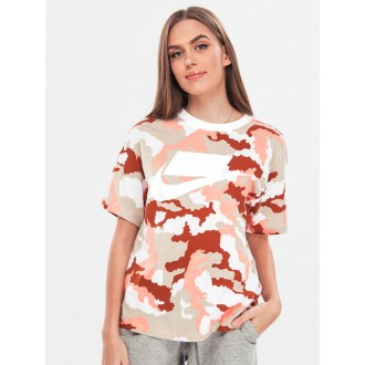 T-shirt Nike militaire rose