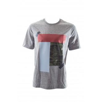 T-shirt Lacoste live gris...