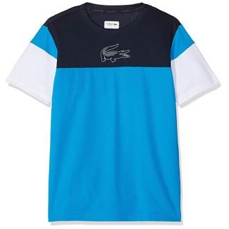 t-shirt Lacoste bleu noir...