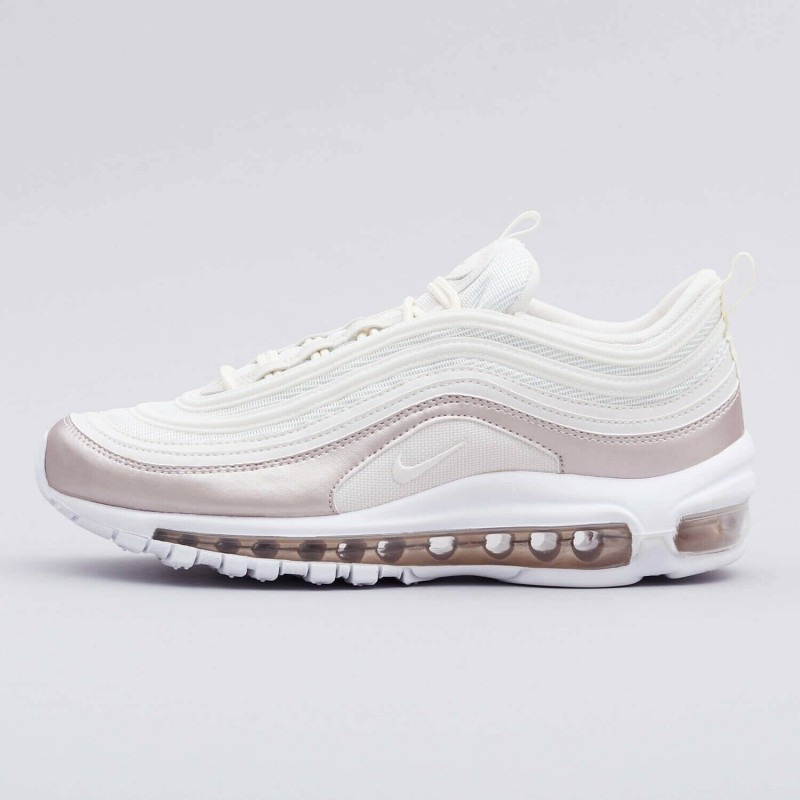 Baskets Nike air max 97 blanche et rose gold