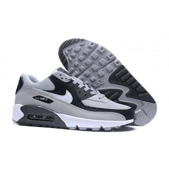 Baskets Nike air max 90 essential gris loup platine pur et blanc